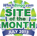 Bingo Site Of The Month - July 2013