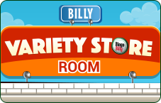 Billy Variety Store Room