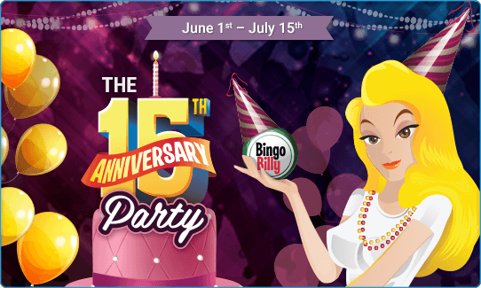 15TH ANNIVERSARY PARTY