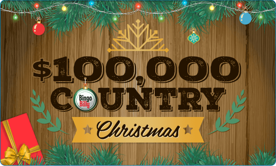 $100,000.00 Country Christmas