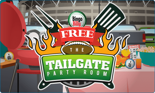 FREE TAILGATE PARTY BINGO ROOM