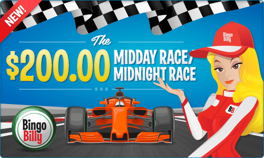 THE $200.00 MIDDAY RACE/MIDNIGHT RACE