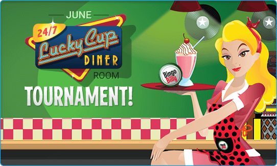 JUNE LUCKYCUP DINER ROOM TOURNAMENT!