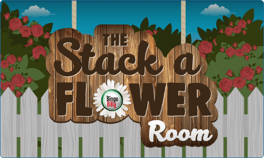 THE STACK A FLOWER ROOM!