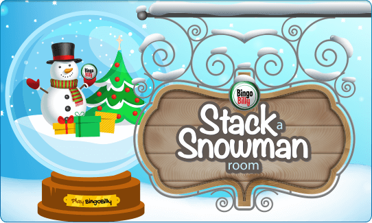 THE STACK A SNOWMAN ROOM