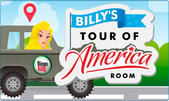 THE TOUR OF AMERICA ROOM