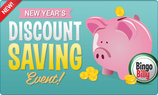 NEW YEAR'S DISCOUNT SAVING EVENT!