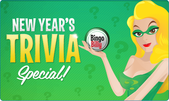 NEW YEAR'S TRIVIA SPECIAL!